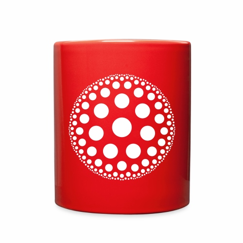 Hyperbolic Circles - Full Color Mug