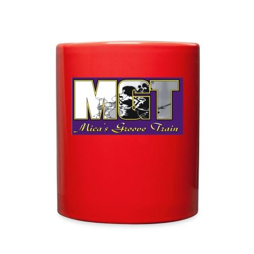 Mica's Groove Train Logo - Full Color Mug