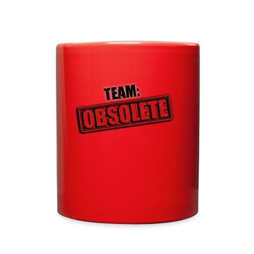 team obsolete trans - Full Color Mug