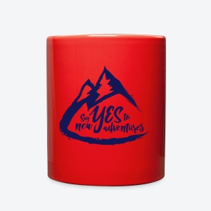 Say Yes to Adventure - Dark - Full Color Mug