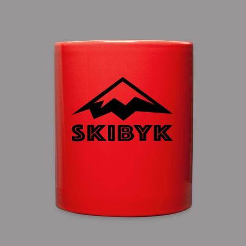 SkiByk Mountain - Full Color Mug