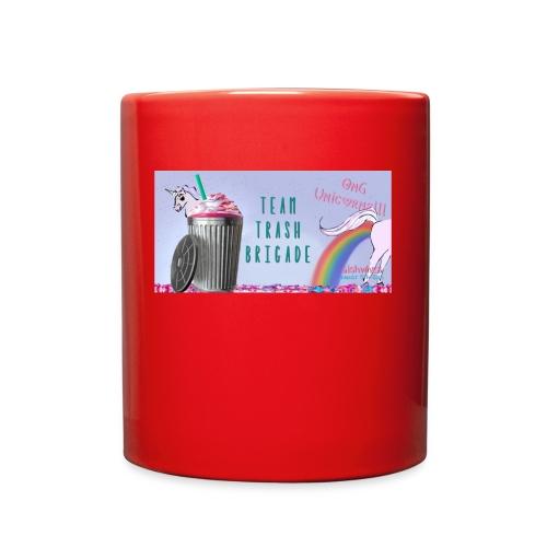trash brigade unicorns - Full Color Mug