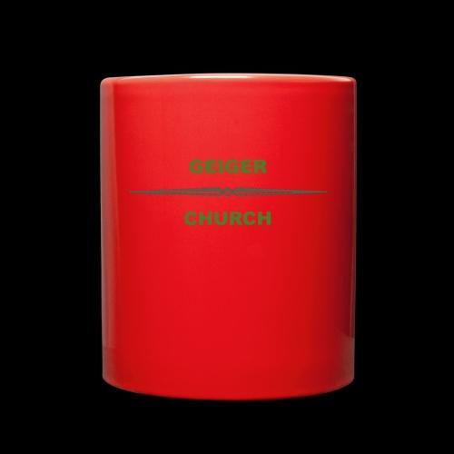 Geiger Military Shirt - Full Color Mug