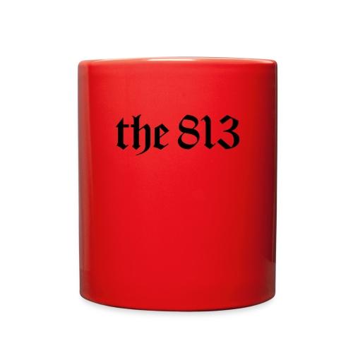 The 813 in Black Lettering - Full Color Mug