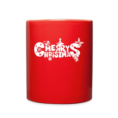 Merry Christmas blanco - Full Color Mug