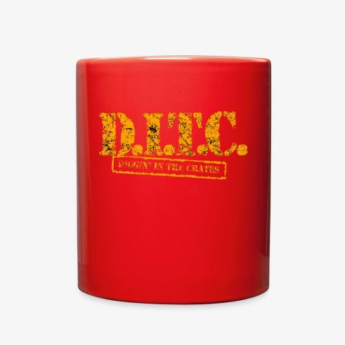DIGGIN IN THE CRATES - Full Color Mug