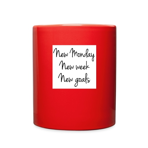 Monday Goals - Full Color Mug