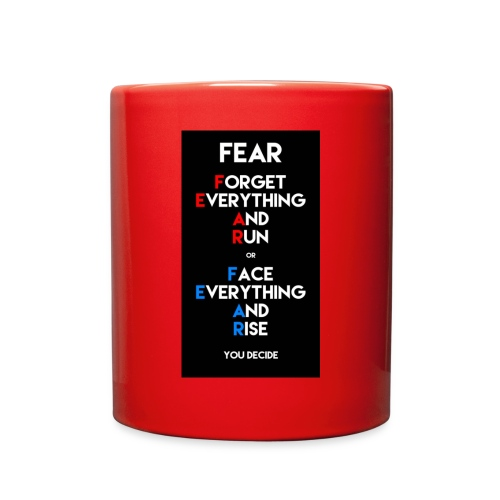 Fear - Full Color Mug
