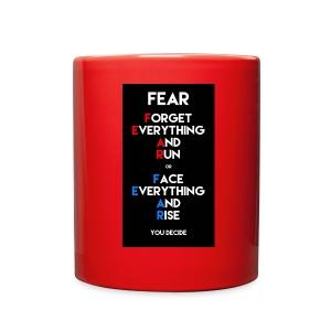 Fear - Full Color Mug