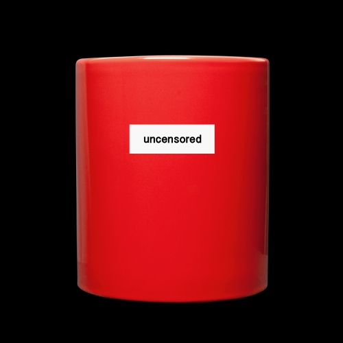 uncensored brand - Full Color Mug