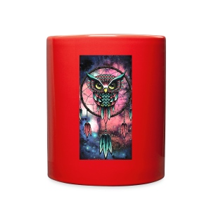 Owl dreamcatcher - Full Color Mug