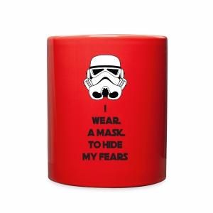 Storm Troopers Mask - Black Text - Full Color Mug