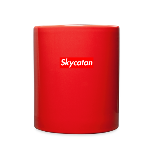 Limited Edition Supreme SkyCatan Logo - Full Color Mug