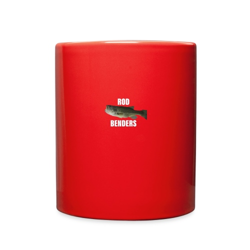 bass pb rodbenders - Full Color Mug