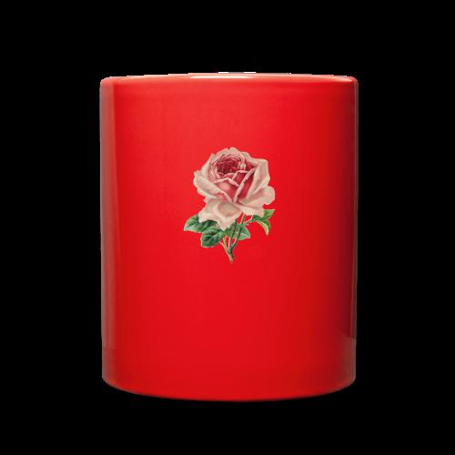 Vintage Flower Design - Full Color Mug