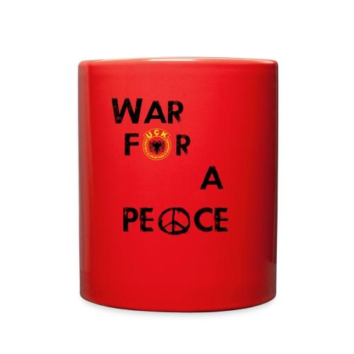 UCK-KLA War for a peace - GunsOfAlbania Design - Full Color Mug