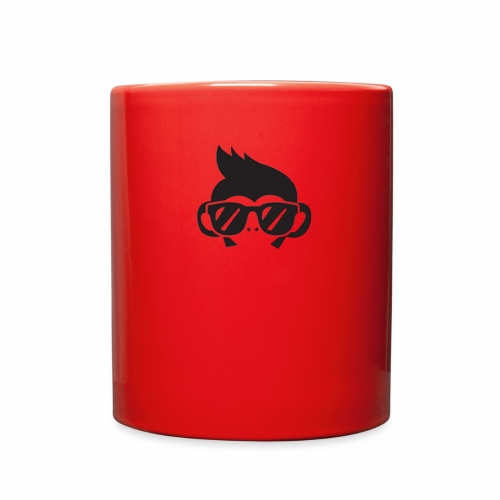 GEEK MONKEY BLACK LOGO - Full Color Mug