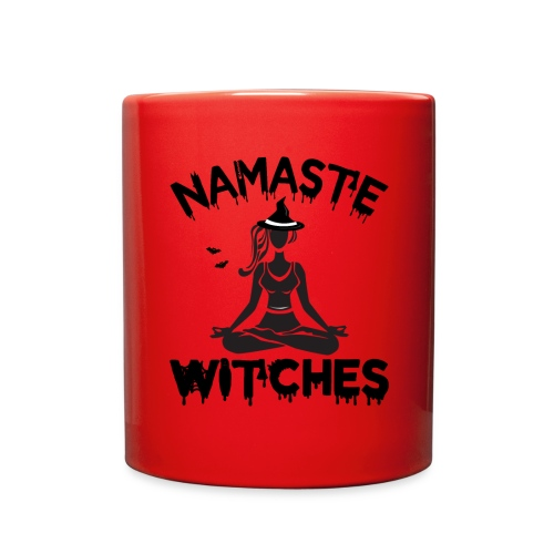 Namaste Witches Halloween Yoga Muscle shirt - Full Color Mug