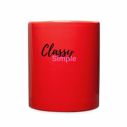 Classy Simple - Full Color Mug