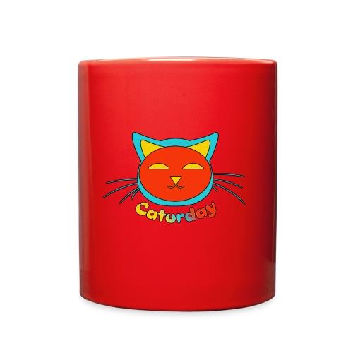 Caturday Design - Full Color Mug