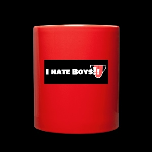 i hate boys - Full Color Mug