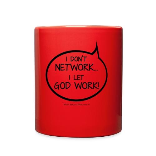 I Let God Work - Full Color Mug