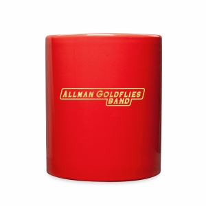Allman Goldflies Band Logo - Full Color Mug