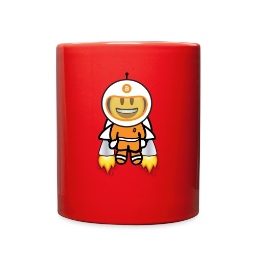 Bit for Buck: Buck's Happy Jetpack Coffee Mug - Full Color Mug
