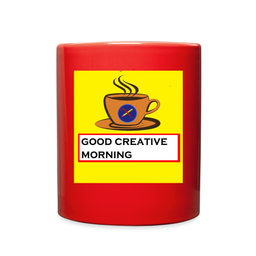 creative morning - Full Color Mug