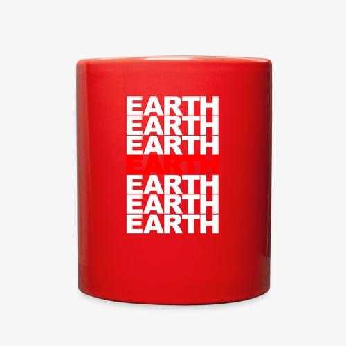 earth - take out - Full Color Mug