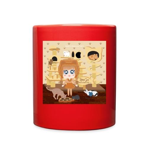 Kittie Girl - Full Color Mug