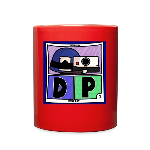 Dedicated Podcast Logo - Full Color Mug