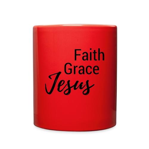 Faith Grace Jesus - Full Color Mug