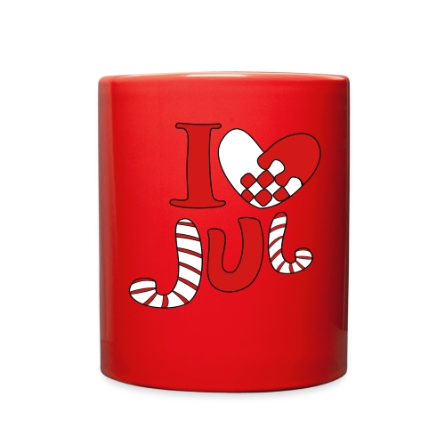 i love jul - Full Color Mug