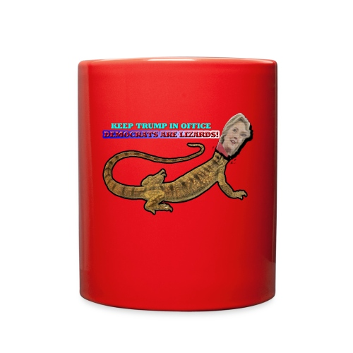 HILLARY THE LIZARD - Full Color Mug