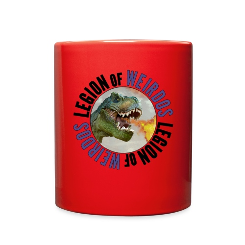 Legion of Weirdos Dino Circle - Full Color Mug