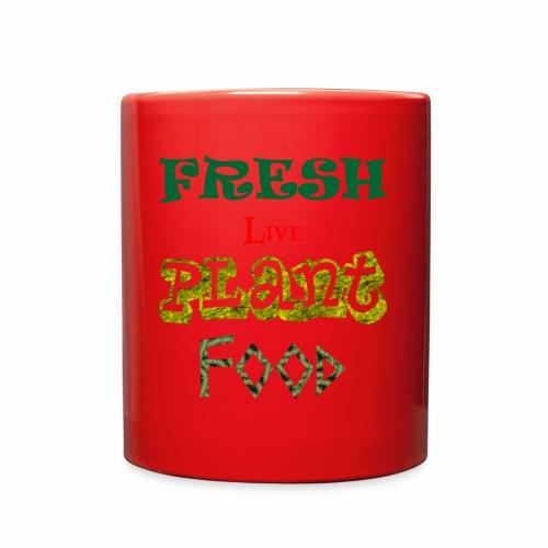 Fresh Live Plant Food - Full Color Mug
