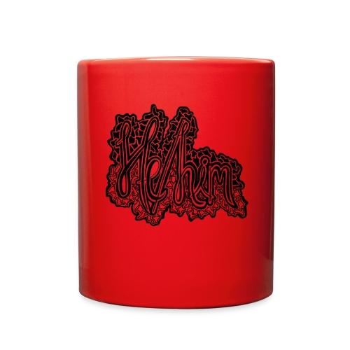 He/Him Cursive Blob - Large - Full Color Mug