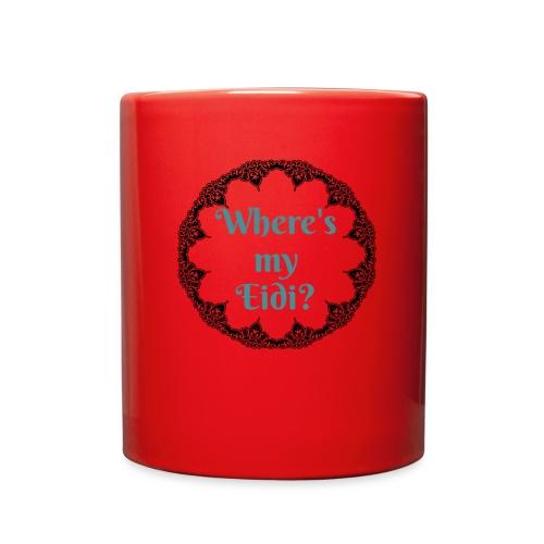 Where's my Eidi - Full Color Mug