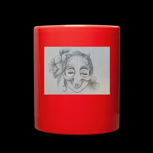 Masked Girl - Full Color Mug