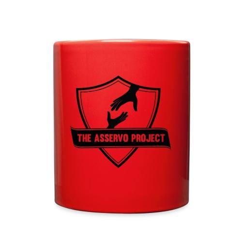 The Asservo Project Black Logo - Full Color Mug
