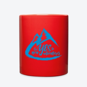 Say Yes to Adventure - Coloured - Full Color Mug