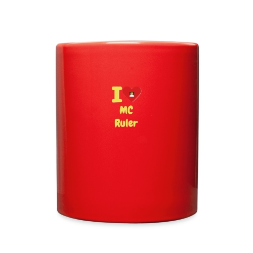 I Heart MC Ruler - Full Color Mug