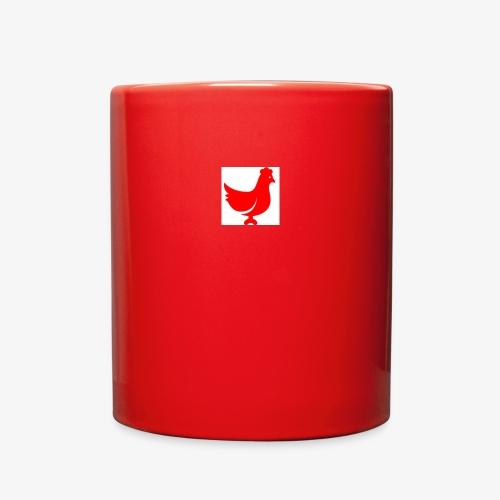 red chicken - Full Color Mug