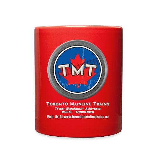 TMT White Letter Version2 - Full Color Mug