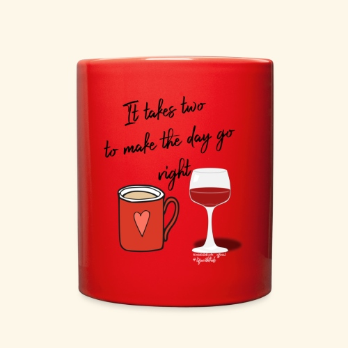 It takes two - Full Color Mug