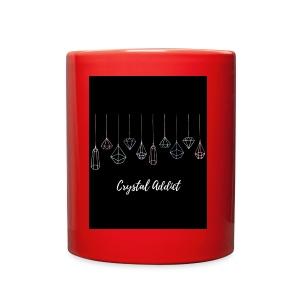 Crystal addict logo - Full Color Mug
