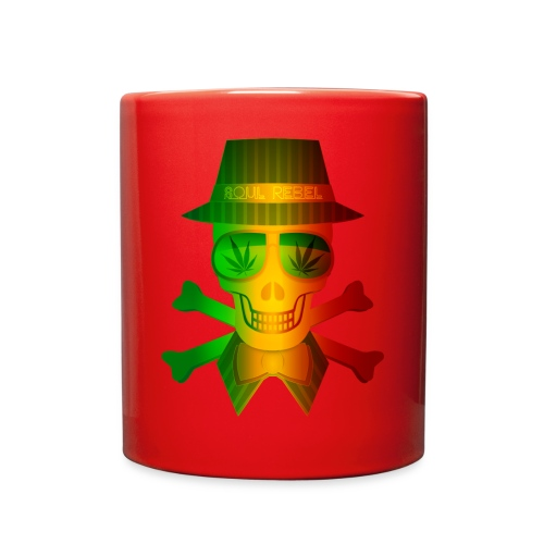 Rasta Man Rebel - Full Color Mug