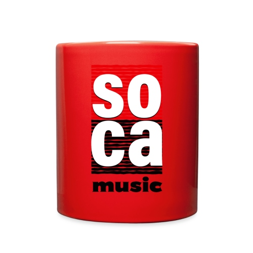 Soca music - Full Color Mug