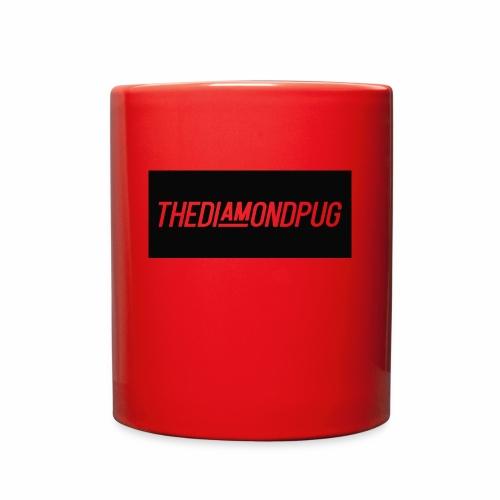 TheDiamondPug Rectangle - Full Color Mug